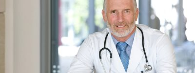 doctor representing health insurance