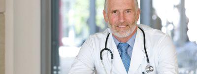 doctor representing health insurance